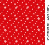 seamless red pattern with... | Shutterstock .eps vector #120675847