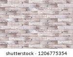 wood floor texture. wooden... | Shutterstock . vector #1206775354