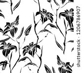elegant seamless pattern with...   Shutterstock . vector #1206786907