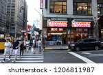 new york  usa   may 27  2018 ... | Shutterstock . vector #1206811987