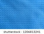 brilliant blue rip stop strong... | Shutterstock . vector #1206813241