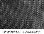 brilliant black rip stop strong ... | Shutterstock . vector #1206813244