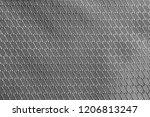 brilliant grey rip stop strong... | Shutterstock . vector #1206813247