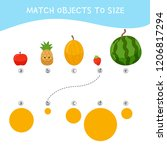 matching children educational... | Shutterstock .eps vector #1206817294