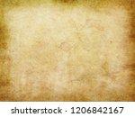 old paper texture   Shutterstock . vector #1206842167