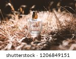 perfume at sunset | Shutterstock . vector #1206849151