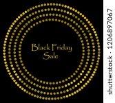 black friday sale backgrund....   Shutterstock .eps vector #1206897067