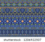peruvian american indian... | Shutterstock .eps vector #1206922507