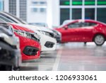 luxury modern cars for sale... | Shutterstock . vector #1206933061
