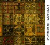 art abstract geometric seamless ... | Shutterstock . vector #120698275