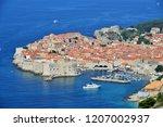 dubrovnik harbour view    Shutterstock . vector #1207002937