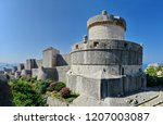 minceta fortress in dubrovnic ...   Shutterstock . vector #1207003087
