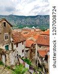 kotor old town  montenegroo   Shutterstock . vector #1207008724