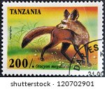 tanzania   circa 1995  a stamp... | Shutterstock . vector #120702901