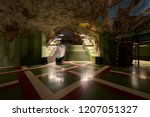 stockholm subway stop called ... | Shutterstock . vector #1207051327