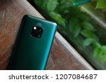 london england   huawei launch... | Shutterstock . vector #1207084687