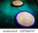 Handmade Seat Pads, Cushions at Nga Hta Gyi Temple, Yangon, Myanmar