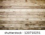 brown wood plank wall texture...   Shutterstock . vector #120710251