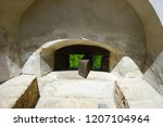 bran castle romania may 05 ... | Shutterstock . vector #1207104964