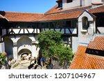 bran castle romania may 05 ... | Shutterstock . vector #1207104967