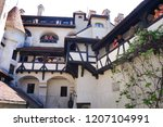 bran castle romania may 05 ... | Shutterstock . vector #1207104991