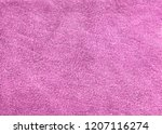 background from pink suedy skin | Shutterstock . vector #1207116274