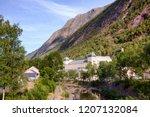 saheim hydroelectric power... | Shutterstock . vector #1207132084