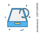 drop box icon design vector