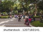 antigua  guatemala   aug 10... | Shutterstock . vector #1207183141