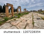 hierapolis   an ancient city... | Shutterstock . vector #1207228354