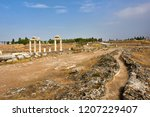 hierapolis   an ancient city... | Shutterstock . vector #1207229407