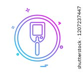 medical icon design vector  | Shutterstock .eps vector #1207237447