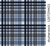 plaid seamless pattern   plaid... | Shutterstock .eps vector #1207254421