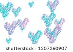 hand draw  embroidered  stylish ... | Shutterstock .eps vector #1207260907