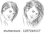 examples of two different...   Shutterstock .eps vector #1207264117