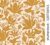 textured wooden magnolia... | Shutterstock .eps vector #120726511