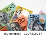 australian dollar banknote | Shutterstock . vector #1207315267