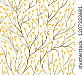 beautiful seamless pattern with ...   Shutterstock . vector #1207333681