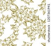 abstract elegance seamless... | Shutterstock . vector #1207361941