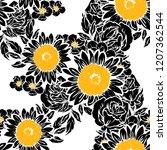 abstract elegance seamless...   Shutterstock .eps vector #1207362544