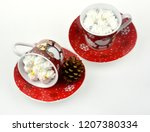 christmas candles and lights | Shutterstock . vector #1207380334