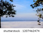morning mist sunrise at khao... | Shutterstock . vector #1207462474