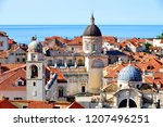 dubrovnik old town view from...   Shutterstock . vector #1207496251