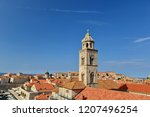dubrovnik old town view from...   Shutterstock . vector #1207496254