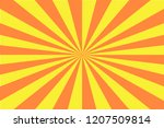 sun rise background   vector | Shutterstock .eps vector #1207509814