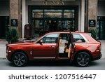 riga  october 2018   the rolls... | Shutterstock . vector #1207516447