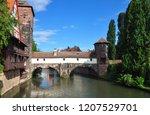weinstadel  wasserturm ... | Shutterstock . vector #1207529701