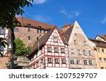obere schmiedgasse in nuremberg | Shutterstock . vector #1207529707