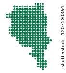 map of ticino | Shutterstock .eps vector #1207530364