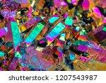 macro mineral stone titanium... | Shutterstock . vector #1207543987